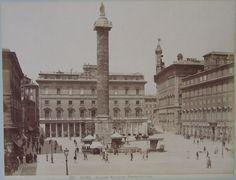 Colonna Antonia. Piazza Colonna