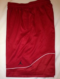 2860da4de8a Nike Air Jordan XI Tech Basketball Shorts 534758-695 Bred 11 Sz: Large #