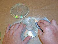 Clearly Altered CDs How to remove the silver coating from the CD
