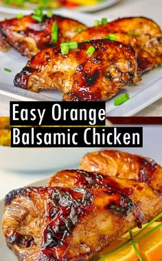 Easy Orange Balsamic Chicken – Dessert & Cake Recipes Easy Orange Balsamic Chicken – Dessert & Cake Recipes More from my siteAlice Springs Chicken (Outback Copycat Alice Springs Chicken (Outback Copycat This Chicken Recipes Ideas is easy and delicious Chicken Marinade Recipes, Grilling Recipes, Crockpot Recipes, Cooking Recipes, Orange Chicken Marinade, Balsamic Chicken Recipes, Balsalmic Chicken Marinade, Orange Chicken Recipe Grilled, Marinade For Chicken Thighs