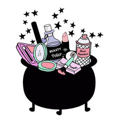 Haha I literally keep all of my beauty stuff in a cauldron :) valfre.com