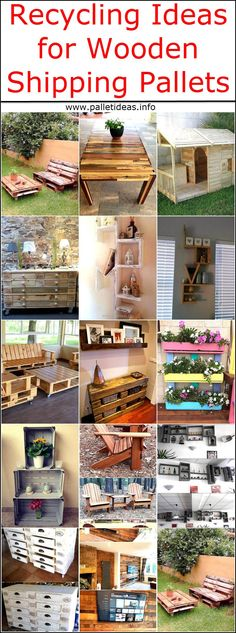 Considering the reshaping of wooden pallets for inside and outside of the home is a wise idea because it is a good way of saving money, which can be invested in anything else and a person is free to create the furniture with the design that is not available in the market. One can create everything starting from the furniture for the TV launch and ending on the furniture for the garden of the home, wooden pallets don't only work well when they are utilized for creating the furniture; but…