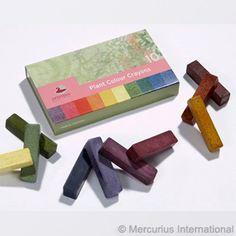 Artemis Pflanzenfarben Pastellkreiden - 10 Farben von Stockmar