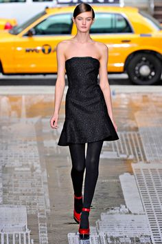 """This is a total """"Wear This Now"""" type of look from DKNY <3"""