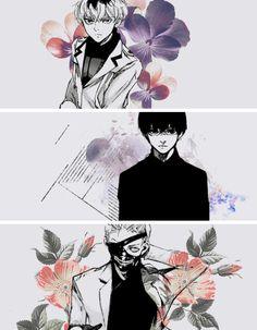 Haise, Black Reaper, and OEK Kaneki