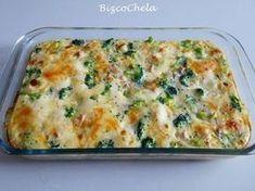 A RECETAS Y A COCINAR SE HA DICHO!!! y a mí nos encanta este pastel de brócoli y pavo... ¡No puede estar más bueno!