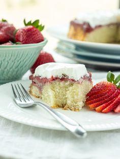 Gluten-Free Strawberry Upside Down Cake