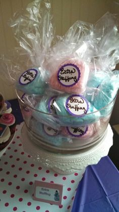 Extra stuffin...for Chloe's Doc McStuffins party!