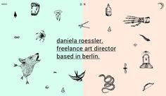 http://danielaroessler.com/  portfolio 2014!!