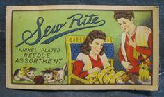 Sew Rite Needles by B-Kay, via Flickr