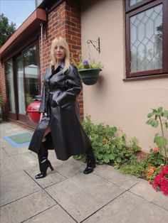 Enjoy this gorgeous blonde in her Rubber Rainwear! Lucy Lucy, Rubber Catsuit, Some Might Say, Gorgeous Blonde, Hot Blondes, Vintage Magazines, Rain Wear, Get Dressed, Leather Skirt