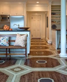 """Beautiful Floors and i promise to stop with the chevrons soon. """"a herringbone"""