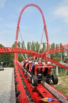 29/37 | Photo du Roller Coaster Ispeed situé à Mirabilandia (Italie). Plus d'information sur notre site http://www.e-coasters.com !! Tous les meilleurs Parcs d'Attractions sur un seul site web !! Découvrez également notre vidéo embarquée à cette adresse : http://youtu.be/UV_CN0pcxyU
