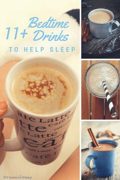 Sipping a yummy drink before bed is one of the best home remedies for insomnia. Here's a roundup of healthy beverages to help you Fight naturally these yummy drink recipes full of foods, like bananas, that promote sleep. Fun Drinks, Yummy Drinks, Healthy Drinks, Beverages, Tea Recipes, Coffee Recipes, Drink Recipes, Banana Cinnamon Tea, Cinnamon Drink