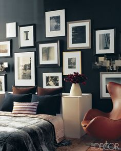 great picture layout for bedroom decoration #bedroom