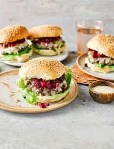 Pan-fried homemade beef patties topped with oozy cheddar and a simple beetroot relish make for a quick midweek meal