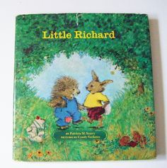 """First Edition 1970 """"Little Richard"""" By Patricia M. Scarry Hardcover Book With Dustjacket by parkledge on Etsy"""