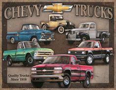 Tribute To Chevy Trucks