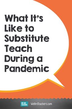 What It's Like to Substitute Teach During a Pandemic. Wondering how subs have been affected by the pandemic? Here's one educator's account of what it's like to substitute teach during COVID. School Opening, School Staff, Elementary Teacher, Elementary Schools, Teacher Shortage, Office Administration, Teacher Retirement, Substitute Teacher, Teaching Jobs