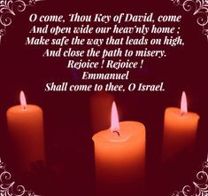 Veni, clavis Davidica #Advent Third Sunday Of Advent