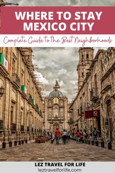 Where to Stay in Mexico City: Complete Guide to the Best Neighborhoods | Mexico City is huge! Looking for a complete guide to all the best neighborhoods in Mexico City? What to know which neighborhood fits you the best? Check out this complete guide to help plan your trip. #travelmexico #mexicocityguide #mexicocity #mexicocityneighborhoods #wheretostaymexicocity #wheretostay #mexicocitydestinations Places To Travel, Travel Destinations, Travel Tips, Places To Go, Mexico Vacation, Mexico Travel, I Love Mexico, Equador, Best Vacations