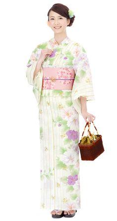 【特選浴衣】小袋帯3点set 24-OB14-1406set | 浴衣屋さん.com 14,500 円