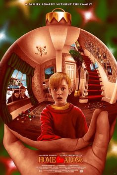 Home Alone x - Poster Design - dekoration Iconic Movie Posters, Cinema Posters, Iconic Movies, Good Movies, Music Poster, Movie Poster Art, Poster Print, Poster S, Home Alone 1990