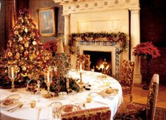 victorian christmas decorations for the home | Christmas in the ...