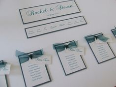 Alabama Wedding Table Plan in Teal from £70.00 available to purchase online.
