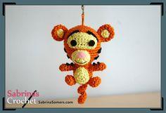 Tigger - Winnie the Pooh - Free Crochet Pattern - Amigurumi
