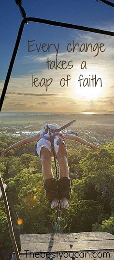 A leap of faith! Everything changes when I jump off the stratosphere