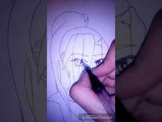 Как нарисовать аниме девушку #1 - YouTube  Я недавно создала свой канал (KingFoxy painter).. Прощу подписаться) каждый день новые уроки по рисованию!)