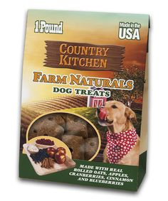 Country Kitchen Farm Naturals Apple Flavored Dog Treat Bag Set Of Two