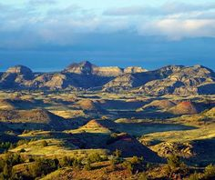 Theodore Roosevelt National Park, North Dakota Similar to the Badlands in South Dakota, but more remote