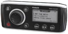 Fusion MS-RA50, AM/FM/AUX/iPOD-iPHONE/Bluetooth Ready Marine Stereo