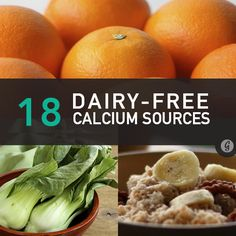 18 Dairy-Free Sources of Calcium #dairyfree #calcium