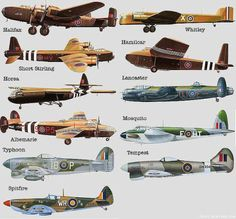 British Warplanes