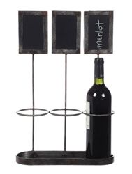 Creative Co-Op Wine Bottle Holder with Chalkboard Labels - Works perfectly. The design is simple and the quality is very good.This Creative Co-op that is Small Chalkboard, Chalkboard Labels, Chalkboard Ideas, Standing Wine Rack, Wine Bottle Holders, Wine Bottles, Bottle Rack, Bottle Display, Creative Co Op