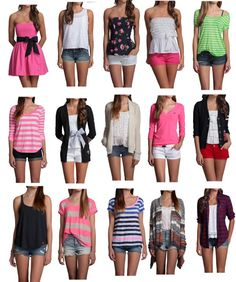 """Hollister Outfits2"" by thumperrabbit ❤ liked on Polyvore...  Definitely gotta lose the bows though  ;)"