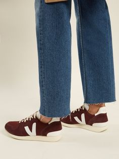 025630b8694f6 Veja Holiday Bastille canvas low-top trainers Fall Winter
