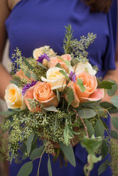 Peach Bouquet    | photographySV.com