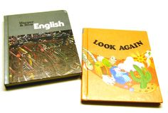 Set of Vintage Children's Textbooks. $8.50, via Etsy.