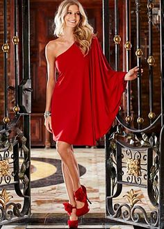 One shoulder dress, just ordered for New Years. VENUS