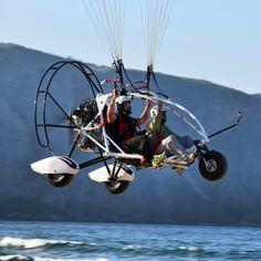 Tandem Paragliding paratrike crete Power FLY team   www.paragliding-crete.gr  flight Georgioupoli limni kournas