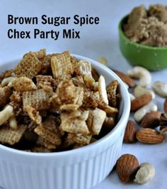Brown Sugar Spice Chex Party Mix -