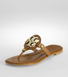 Patent leather miller sandals -Tory Burch