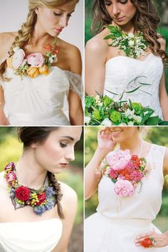 43 Wearable Flower Wedding Accessories #wearableflowers #flowerstogo