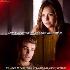 1) Stelena scenes were real cute and funny. I really love their friendship . 2) I hate Kai. He is really irritating. Hope he dies real soon (but oly after return) . 3) Stefan proposing to Elena- funniest thing ever . 4) Wonder y we never got to see Caroline in this ep...?!?!?? . 5) Enzo looked hot AF . 6) Trip Fell better not hurt Enzo . 7) I never thought that it would be ...