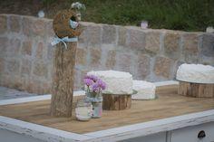 Mesa do bolo - Cake table Casamento Bel e Ju