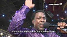 PRAYER FOR HEALING WITH PROPHET TB JOSHUA!!!